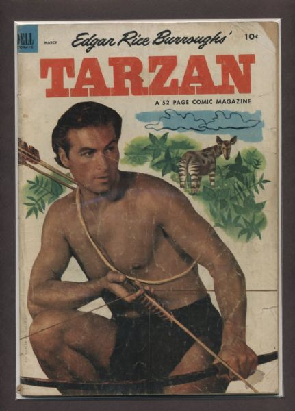 Tarzan #42 G 1953 Dell Comic Book